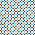 Retro Polka Dot Design Stock Images