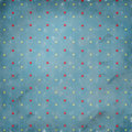 Retro Polka Dots Royalty Free Stock Photo