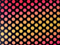 Retro polkadot background with hot tone Stock Photo