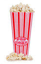 Retro popcorn Royalty Free Stock Photography