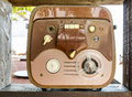 Old reel to reel tape recorder Royalty Free Stock Photo