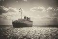 Retro Queen Mary last voyage