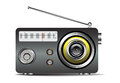 Retro radio Immagine Stock