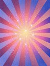 Retro Rays grunge texture stars Background Royalty Free Stock Photo