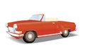 Retro red cabriolet Royalty Free Stock Photo