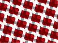 Retro red white chain pattern Royalty Free Stock Photography