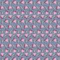 Memphis-style Retro 90`s Pattern