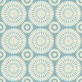 Retro seamless circle background grey Royalty Free Stock Photography