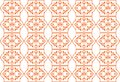 Retro seamless flower pattern Stock Images