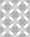 Retro Seamless Pattern Royalty Free Stock Photos
