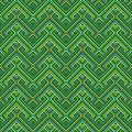 Retro seamless pattern abstract ethnic geometric vector illustration Stock Images