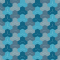Retro seamless pattern abstract ethnic geometric vector illustration Stock Image
