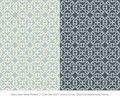 Retro Seamless Pattern 2 Color...