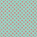 Retro seamless pattern with colorful hearts great for valentines day abstract romantic background vector illustration Royalty Free Stock Photos