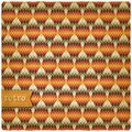 Retro seamless pattern geometric background vector illustration eps Stock Image
