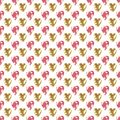 Retro seamless pattern with sparkle glitter hearts background Royalty Free Stock Photo