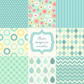 Retro Seamless Patterns 3