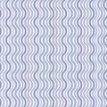 Retro seamless wave pattern Royalty Free Stock Image