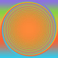 Retro seventies swirl eighties background Royalty Free Stock Photo
