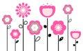 Retro Spring Flowers