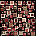 Retro squares Royalty Free Stock Photo