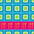 Retro squares design Royalty Free Stock Images