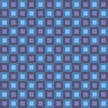 Retro Squares Pattern Stock Photo