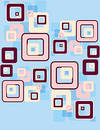 retro squares pattern Royalty Free Stock Photo