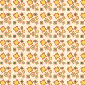 Retro squares pattern Royalty Free Stock Image