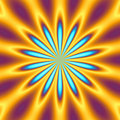 Retro starburst Royalty Free Stock Images