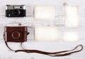 Retro Still Camera And Some Old Photos