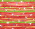 Retro Stripe Christmas Print 2 Royalty Free Stock Photography