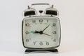 Retro style alarm clock Royalty Free Stock Photo