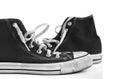 Retro style sneakers Royalty Free Stock Photo