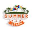 Retro Summer Holidays  Labels ...