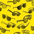 Retro sun glasses summer plastic lens color stylish optical Royalty Free Stock Photos