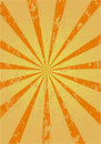 Retro sunburst background Stock Image