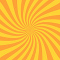 Retro sunburst ray in vintage style. Spiral effect. Abstract comic book background Royalty Free Stock Photo
