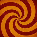 Retro sunburst swirl Royalty Free Stock Photo