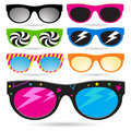 Retro Sunglass Set Stock Photography