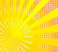 Retro sunny background Royalty Free Stock Image