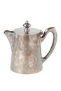 Retro teapot or coffee pot, jug  Royalty Free Stock Images