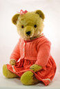 Retro teddy... Stock Photos