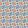 Retro Tiles Pattern Stock Photography
