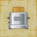 Retro Toaster Royalty Free Stock Photography