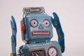 Retro toy robot Royalty Free Stock Photo
