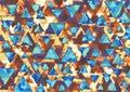 Retro triangles Royalty Free Stock Photo