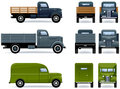 Retro trucks Royalty Free Stock Photo