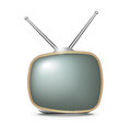 Retro TV set Stock Photography