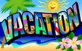 Retro Vacation Postcard